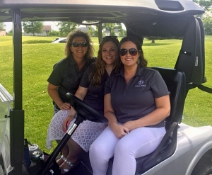 Hirenomics team members attend the 2019 MCA Scholarship Golf Tournament